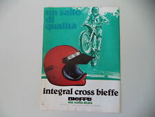 advertising Pubblicità 1979 CASCO HELMET BIEFFE INTEGRAL CROSS