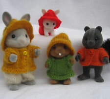Knitting Pattern Collectors clothes, RUSTIC: Sylvanian Families, Calico Critters