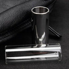 New Chrome Plated Stainless Steel Metal Electric Guitar Slide Thick Accessories