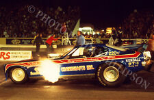 FUNNY CAR PHOTO GARY HENDERSON DRAG RACING ORANGE COUNTY 1973 NHRA