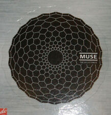 MUSE Black Band Logo The Resistance Sticker New not cd lp but Cool