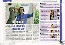 Coupure de presse Clipping 2002 (1 page 1/4) Beigbeder