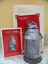 Hallmark 2003 Home for the Holidays Thomas Kinkade Lantern Christmas Ornament