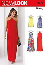 NEW LOOK SEWING PATTERN Misses' EASY DRESS IN 2 LENGTHS SIZE 6 - 18 6372