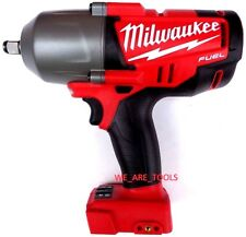 "New Milwaukee FUEL 2763-20 18V 1/2"" Cordless High Torque Impact Wrench M18 Ring"