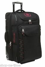 "OGIO Canberra 26"" Travel Luggage Bag with In-line Skate Wheels Red OGIO Logo New"
