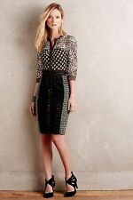 NWT SZ 0 ANTHROPOLOGIE $328 MELODIST PENCIL DRESS BYRON LARS SHOWSTOPPER LAST 0!