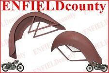 BRAND NEW 1936-39 RIGID FRAME INDIAN CHIEF SCOUT 101 FRONT REAR MUDGUARD SET @AU