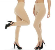 Thick Warm Beige Nude Leggings for Women and Girls 12+ Winter Pants Leggins