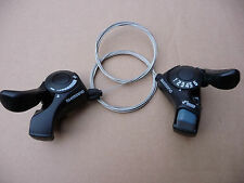 SHIMANO 6 Speed Gear Shifters Thumb Trigger Rear Indexed Front Friction SL-TX30