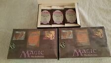 Qty 2 MTG:The Dark booster Magic the Gathering. New, sealed, from sealed box