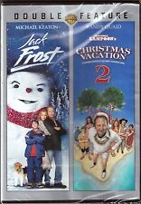 Jack Frost & Christmas Vacation 2 - DVD 2-Movie Holiday Feature BRAND NEW