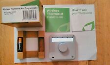 Digital Easy to Read Simple Wireless RF 868MHz  Room Thermostat + Receiver New