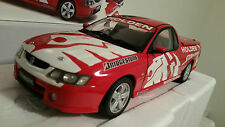 HOLDEN STORMRIDER VY SS UTE RED WHITE DECALS #18125 CLASSIC CARLECTABLES 1:18