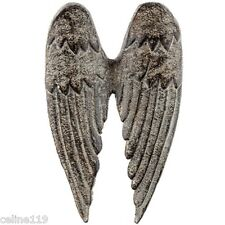 Metal Angel Wings Distressed Vintage Wall Decor Shabby Chic New