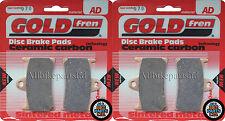 YAMAHA XJR1300 R/S (2003-2004) XJR 1300   SINTERED HH FRONT BRAKE PADS *GOLDFREN
