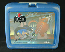 Vintage Collectible Batman plastic lunch box 1993 Made in USA