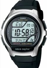 Casio Digital Atomic Waveceptor Watch, 50 Meter WR, Resin, Chronograph,WV58A-1AV