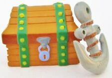 TREASURE CHEST ANCHOR Figure SPONGEBOB SQUAREPANTS PVC TOY Cake Topper FIGURINE!