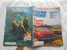 MOTOR TREND Magazine-APRIL,1976-1976 TOYOTA CELICA..IMPORT CAR OF THE YEAR