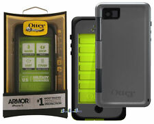 Otterbox Armor Series Waterproof Phone Case For Apple iPhone 5/5S Neon Green NEW