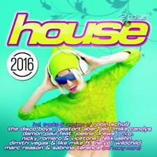 CD House 2016 von Various Artists 2CDs
