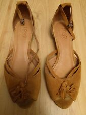 Madewell 1937 tan leather ankle strap sandal shoes 7
