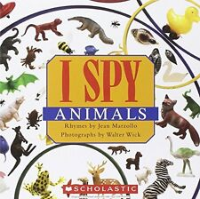 I Spy Animals by Jean Marzollo, (Paperback), Scholastic Inc. , New, Free Shippin