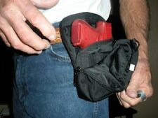 Concealment Gun Holster Nylon Vertical Fanny Pack Bag