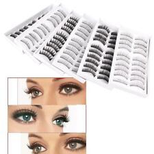 10X 6 Box Falsche Wimpern Künstliche Wimpern Eyelashes