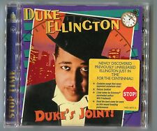 Duke Ellington cd DUKE'S JOINT © 1999 with never appeared songs - EU-16-track-CD