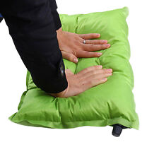 Automatic Inflatable Air Cushion Pillow Portable Outdoor Travel Camping LE