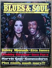 BLUES & SOUL Mag. No 138.July2-15,'74. Continuing saga of GARY US BONDS. ENGLISH