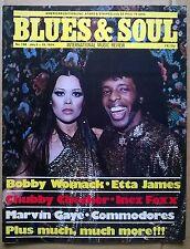 BLUES & SOUL Mag. No 138.July2-15,'74. Continuing saga of GARY US BONDS. ENGLISH