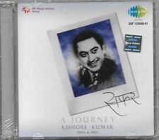 A JOURNEY KISHORE KUMAR (1970 's & 1980 's) BRAND NEW 2 CDs SET - FREE UK POST