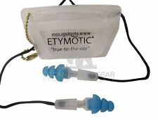 5 prs Earplug Etymotic Research Hi-Fi Standard Fit Protection Music ER20-SMB-C
