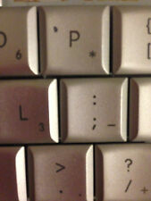 "Macbook Pro 15"" or 17"" Replacement keyboard Keys"