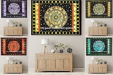 Indian Astrology Wall Hanging Tapestry 5 PC Wholesale Lot Yoga Mat Beach Throw