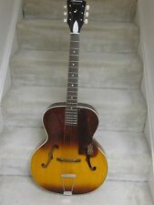 Vintage Harmony Monterey archtop acoustic guitar-1960's,one owner,brown sunburst