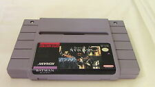 +++ BATMAN RETURNS Super Nintendo SNES Game Cart ONLY TESTED +++