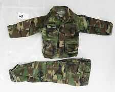 "Dragon Toys 1/6 Scale 12"" Action Figure Army Camo Uniform Set"
