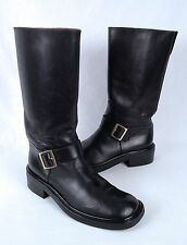 Gucci Moto Boot- Black Calf- Size 6 M  (B18)