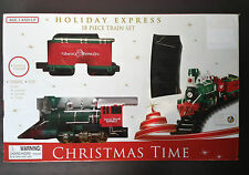 CHRISTMAS TIME HOLIDAY EXPRESS 18 PIECE TRAIN SET  Brand New
