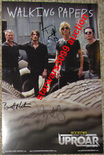THE WALKING PAPERS BAND POSTER DUFF MCKAGAN Jeff Angell Guns and roses cd dvd