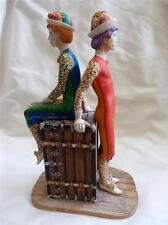Border Fine Arts Ben Black Clowns Between Acts Ltd Ed Master Copy Sample