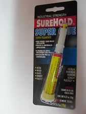 SureHold Super Glue Industrial Strength  10 gram tube  #308  NEW