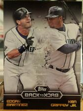 2016 BACK TO BACK INSERT CARD OF E MARTINEZ & K GRIFFERY JR. NO. B2B-4