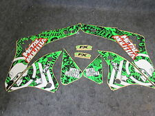 Kawasaki KXF450 2006-2008 Factory FX Metal Mulisha graphics kit GR1187