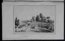 ITALIA: SIRACUSA, ANTICO TEATRO GRECO.. = LEMAITRE.SICILIA.Artaud.1835