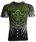 Archaic AFFLICTION Men T-Shirt WRECKAGE Biker MMA UFC American Fighter S-4XL $40